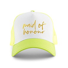Wedding Party Snapback Trucker Hats - Maid of Honour