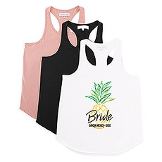 Personalized Bridal Party Wedding Tank Top - Tropical Bride
