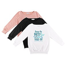 Personalized Bridal Party Wedding Sweatshirt - Party Our Tails Off