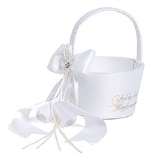 Fairy Tale Dreams Flower Girl Basket