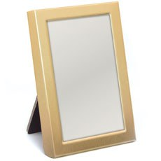 Mini Photo frame Favor in Gold or Silver Easel Back