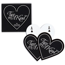 Heart Shaped Playing Cards Favor in Box
