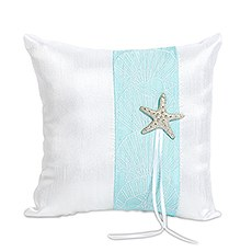 Seaside Allure Ring Pillow