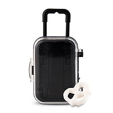 Miniature Travel Trolley with Wheels and Retractable Handle
