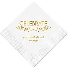 Woodland Pretty Celebrate Paper Napkins