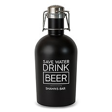 Stainless Steel Beer Growler - Drink Beer