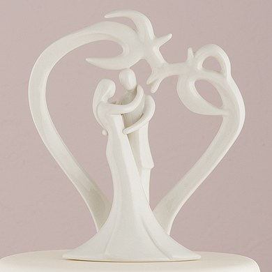 Tropical Breeze Wedding Cake Topper