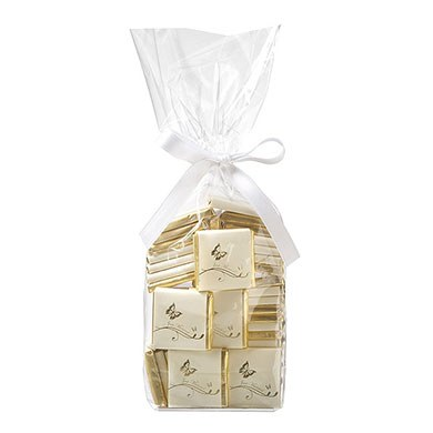 Individually Wrapped Butterfly Chocolate Favor Squares Pack