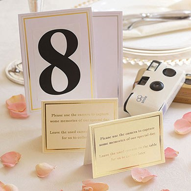 Cards for Wedding Cameras Pack