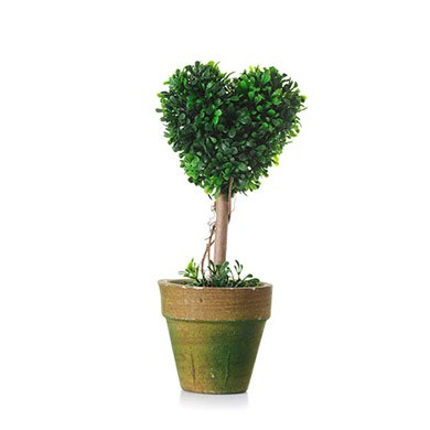 Mini Heart Topiary Tree