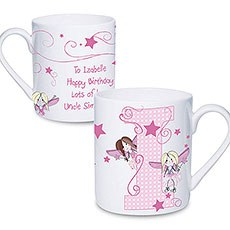 Personalized Fairy Letter Mug