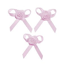 Rose Bows Favor and Stationery Trim Pack