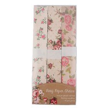 Vintage Rose Paper Chain - 150 Pack Assorted