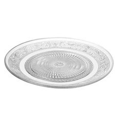 Pressed Glamorous Vintage Candle Plate