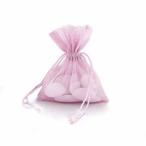 organza favour bag with drawstring pack confetti co uk