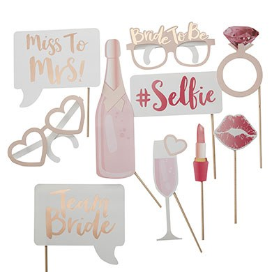 Hen Party Photo Booth Props Assortment