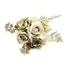 Bardot Artificial Small Posy Bouquet