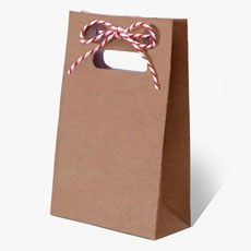 Just My Type Kraft Favor Bags - 10 Pack