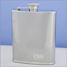 Bryson Textured Hip Flask