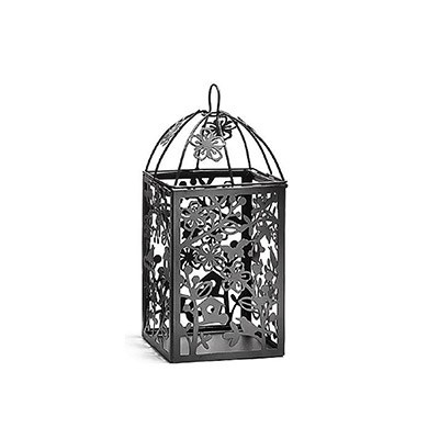 Black Metal Table Lantern   Small