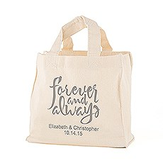 Forever and Always Personalized Tote Bag