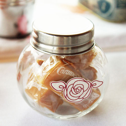 small glass candy jars with lids. Black Bedroom Furniture Sets. Home Design Ideas