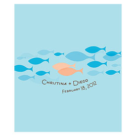 Of All The Fish In The Sea Large Rectangular Sticker
