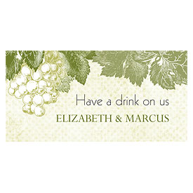 A Wine Romance Wedding Small Ticket