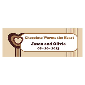 Chocolate Favor Tags
