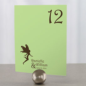 Fairytale Charm Wedding Reception Table Number