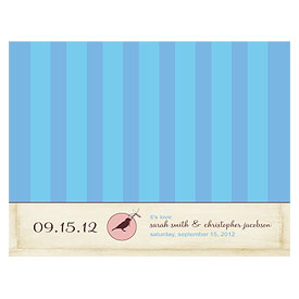 Whimsical Garden Wedding Note Card