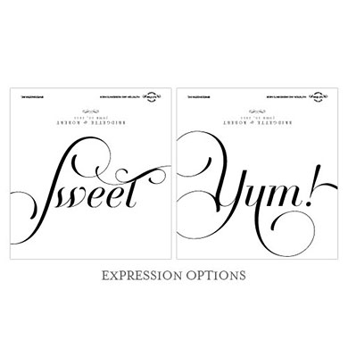 Expressions Chocolate Bar Wedding Favor