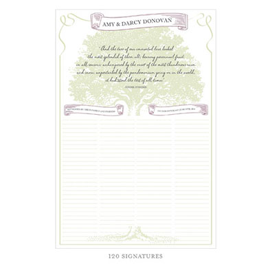 Stood The Test of Time Personalized Signature Wedding Certificate