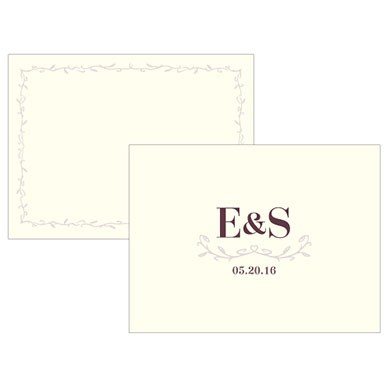 Equestrian Love Wedding Note Card