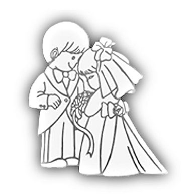 Cute Bride and Groom Decoration Supplies