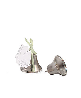 mini wedding reception accessory bells