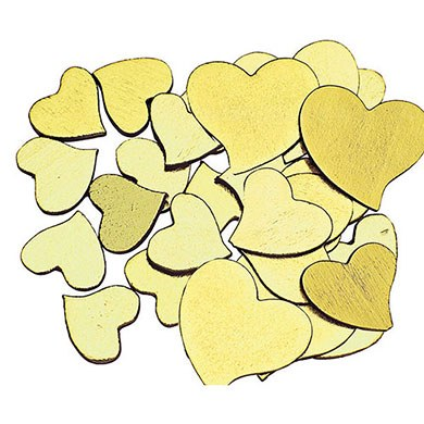 Solid Hearts Wedding Reception Decoration Accessory