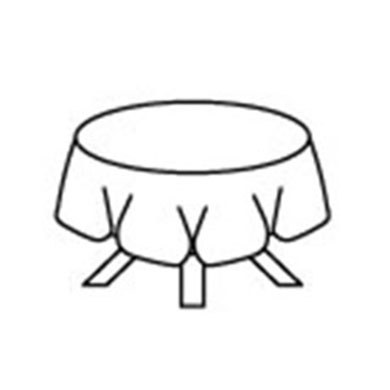 Round Plastic Wedding Reception Table Covers