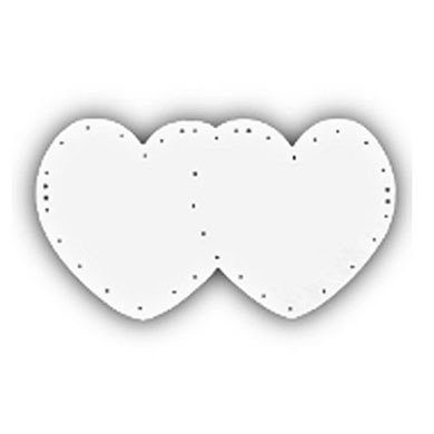 Double Heart Decoration Supplies