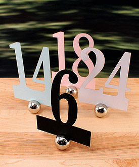 Laser Expressions Classic Paper Wedding Number Set