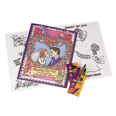 Wedding Children's Activity Book Gift