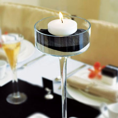 Round Floating Wedding Candles