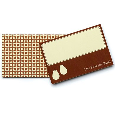 The Perfect Pair favor and gift Tags
