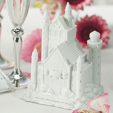 Fairy Tale Dreams Castle Wedding Cake Topper