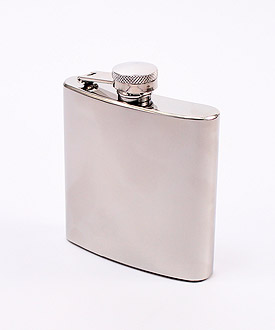 Personalized Wedding Party Stainless Steel Flasks