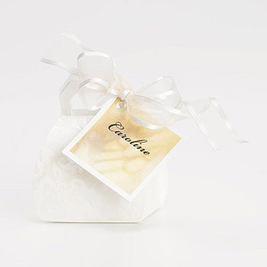 Diamante Wedding Favor Boxes