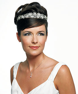 French Petals Bridal  Tiara