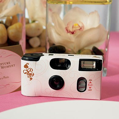 Wedding Memories Design Disposable Camera