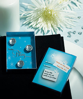 Fridge Bling Diamond Magnets in Gift Package Wedding Favor