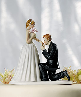 A Cinderella Moment Cake Topper